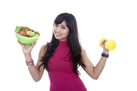 http://www.dreamstime.com/royalty-free-stock-image-woman-fitness-food-dumbbell-image24387466