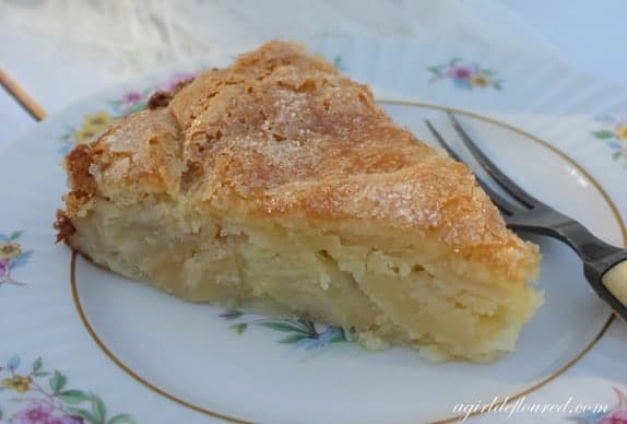 gluten free french apple cake