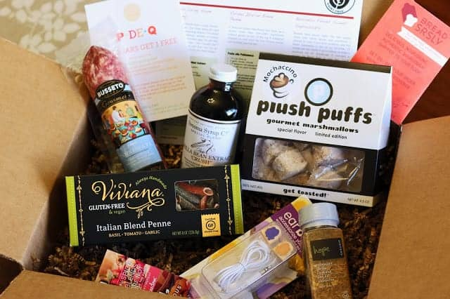 gfree foodie box