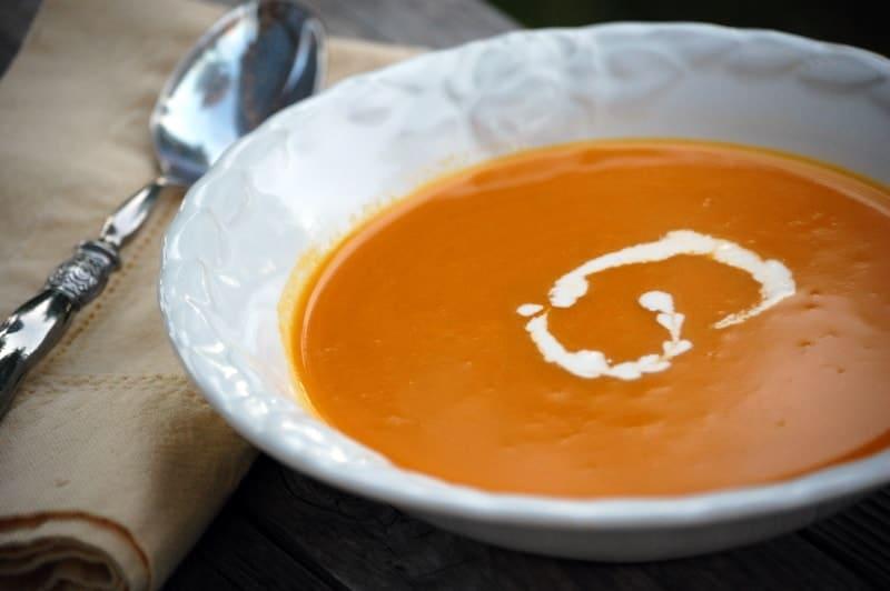 Carrot Orange Soup